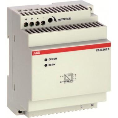 ABB Zasilacz impulsowy CP-D 24/2.5 wej: 100-240VAC wyj: 24VDC/2.5A 1SVR427044R0200