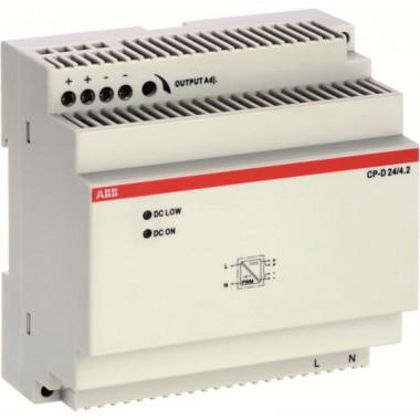 ABB Zasilacz impulsowy CP-D 24/4.2 wej: 100-240VAC wyj: 24VDC/4.2A 1SVR427045R0400